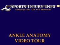 Take the Ankle Anatomy Video Tour