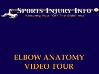 Elbow Anatomy Video Tour