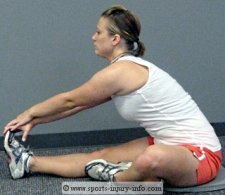 Seated Hamstring Stretches