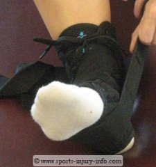 Ankle Brace With Straps
