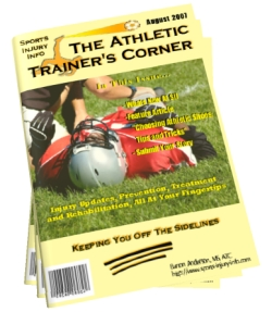 The Athletic Trainers Corner