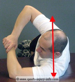 Sidelying Internal Rotation Stretch