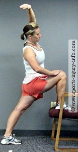 Standing Hip Flexor Stretch - End